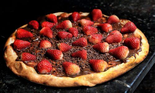 Dessert pizza 1