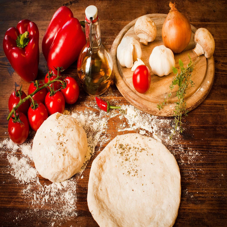 recipe with pizza dough