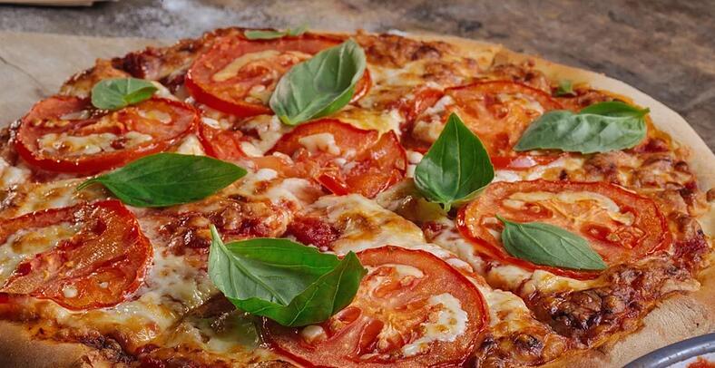 Slice of NY pizza