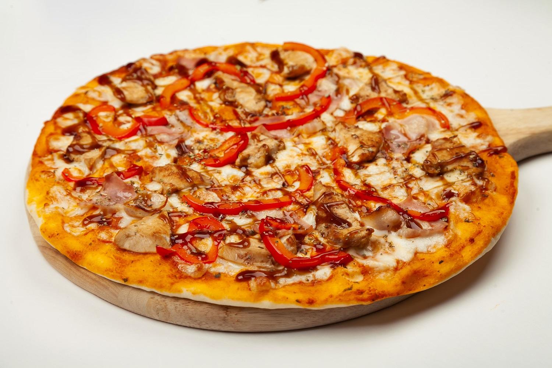 Spinach feta mushroom and sausage pizza