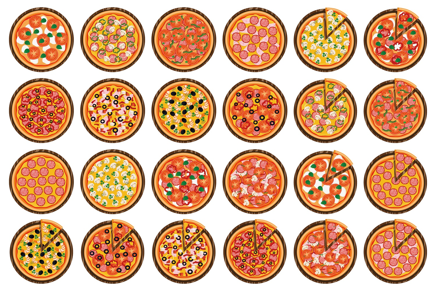 types of pizza in usa