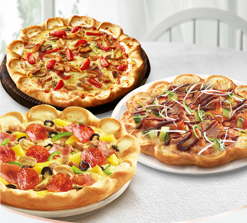 Pizza Hut Meat Topping pizza