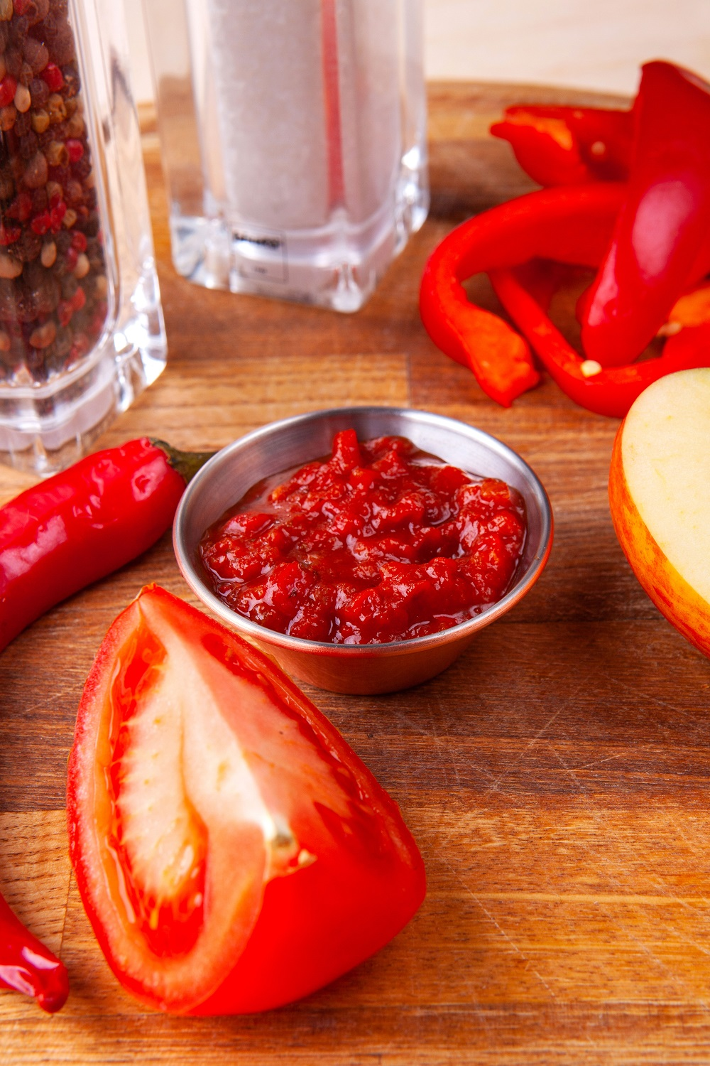 Tomatoes and Tomatoes sauce