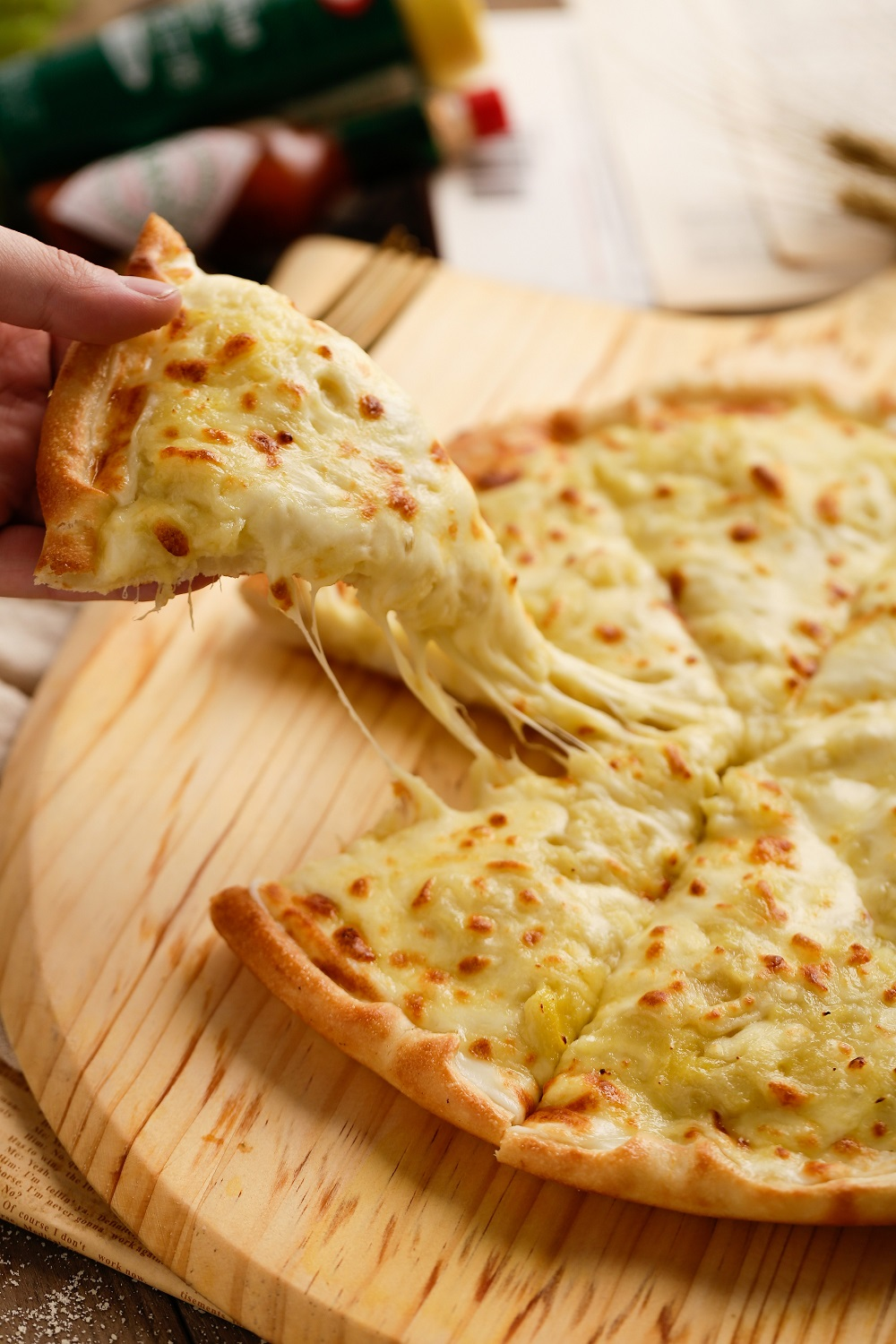 cheese-and-pizza
