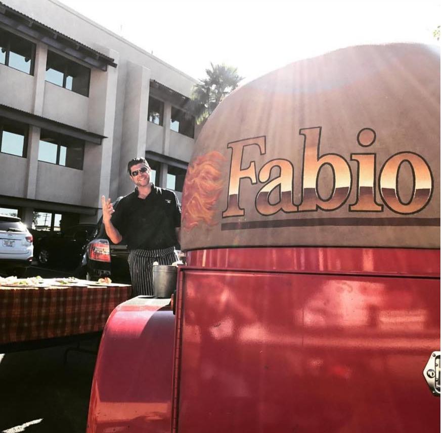 Fabio on fire