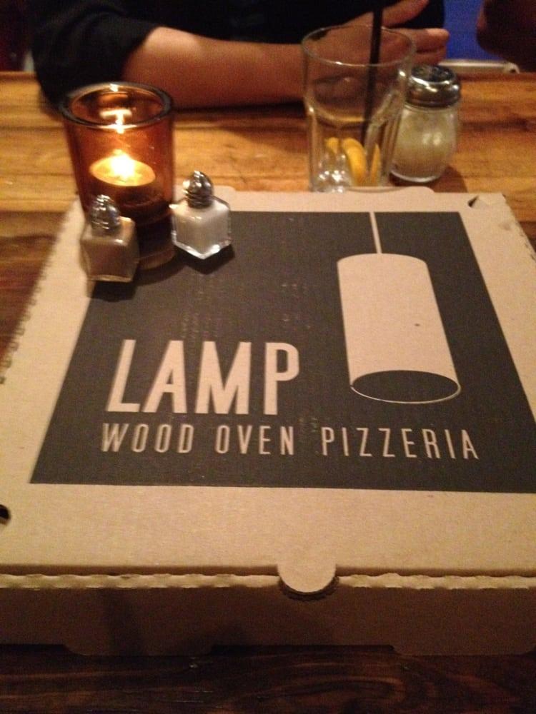 Lamp pizzeria