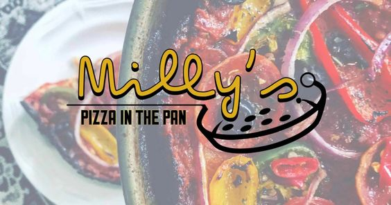 Millys pizza in the pan