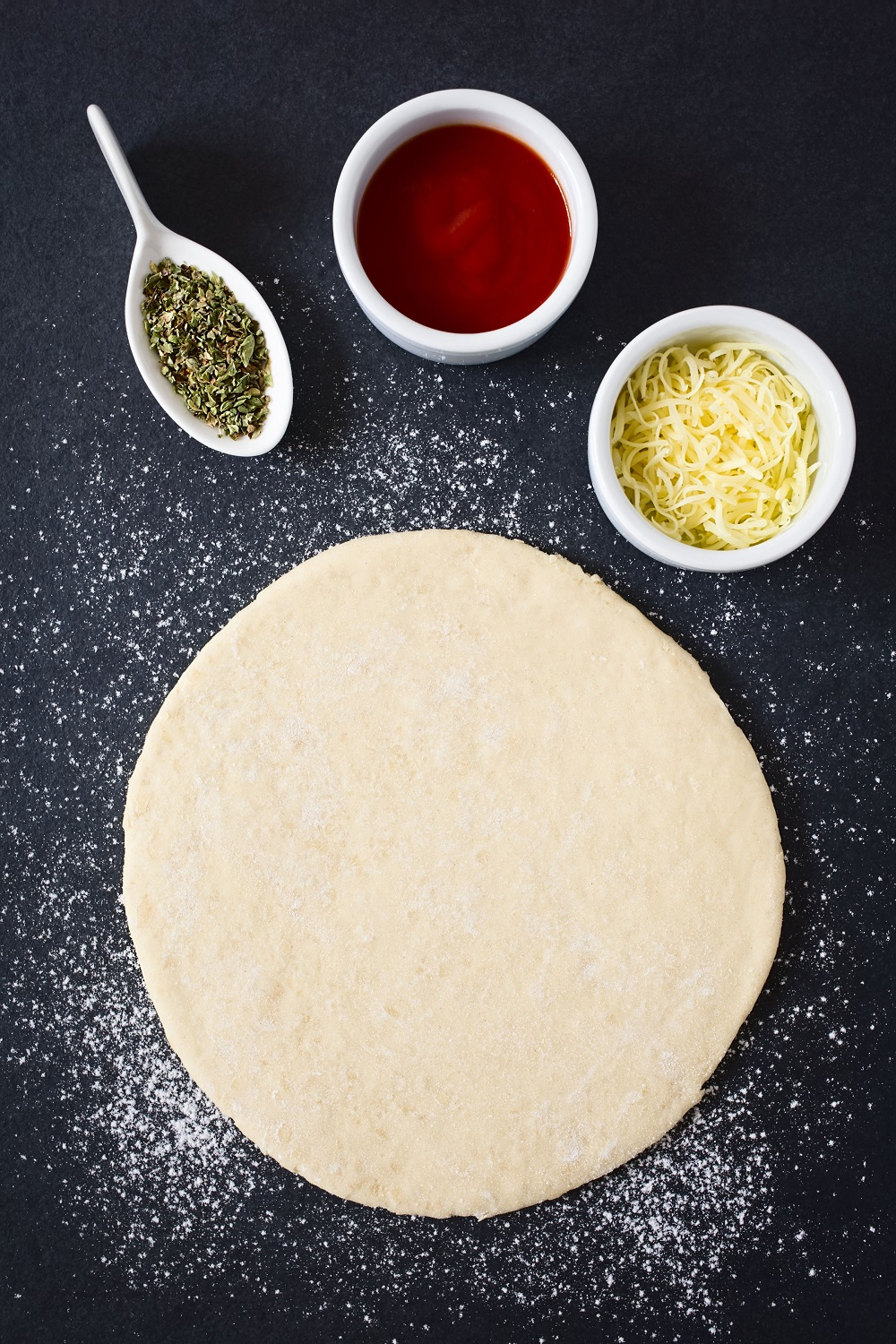 Pizza Dough after Proofing