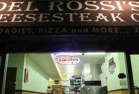 Del Rossis Cheesesteak