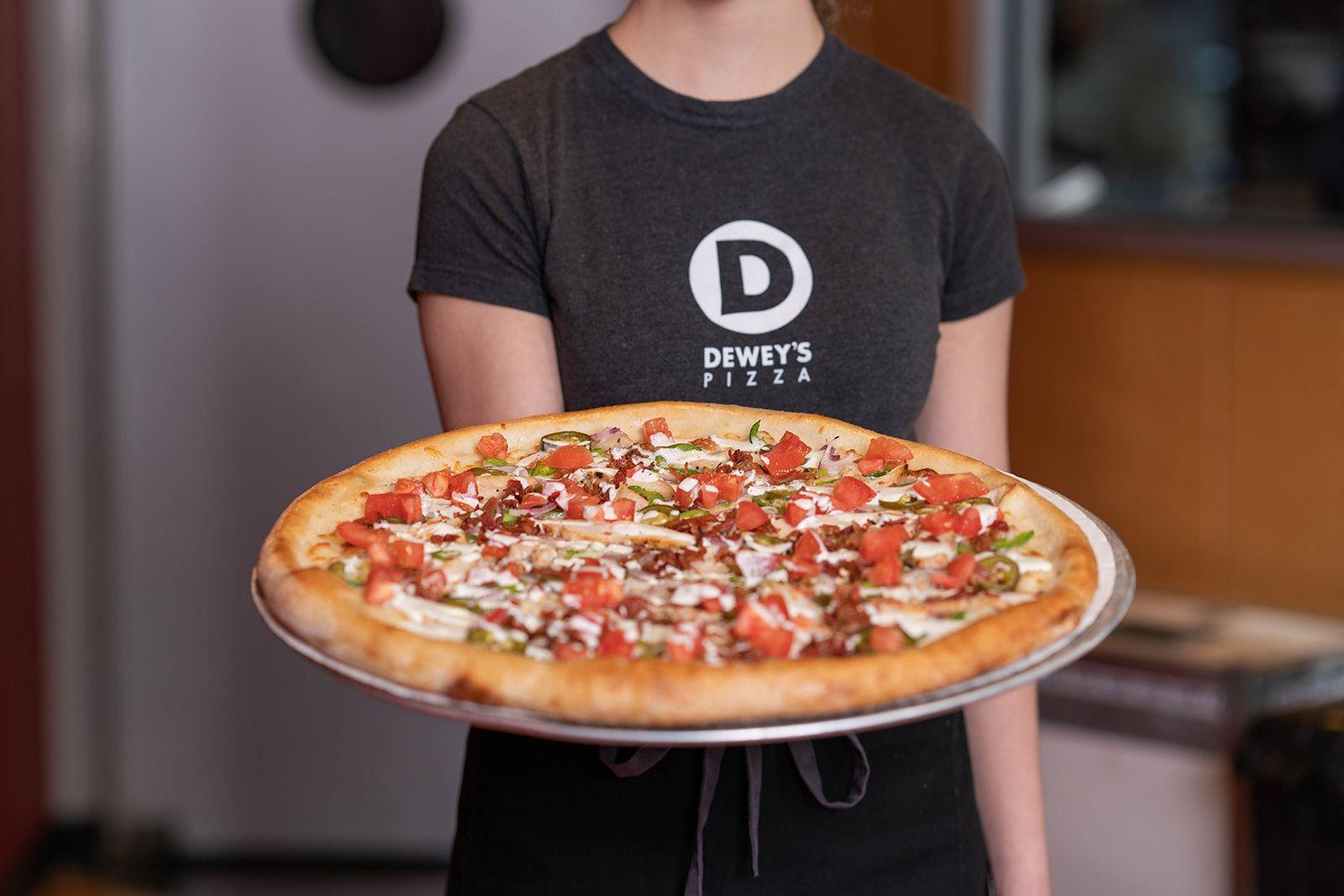 Deweys pizza 1