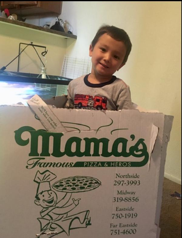 Mamas famous pizzas and heros