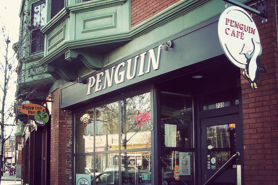 Penguin pizza