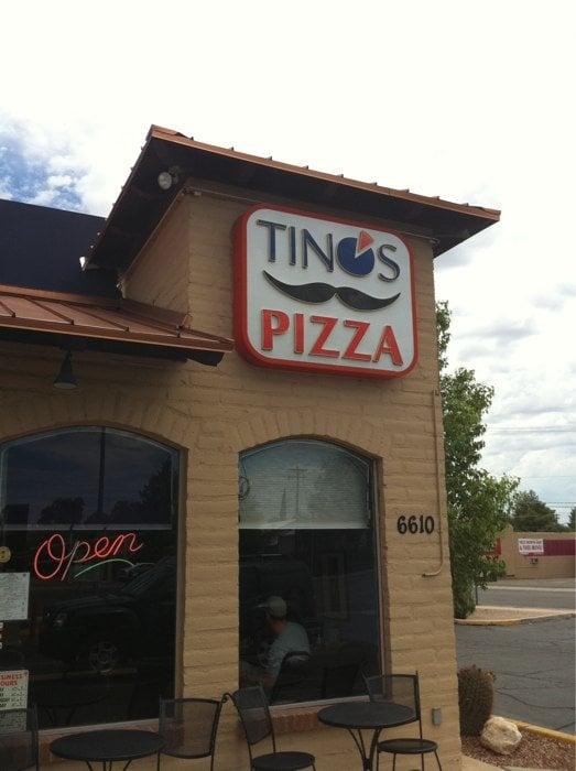 Tinos pizza