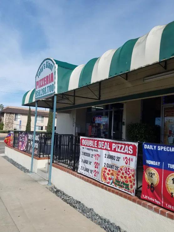 Tonys Giant Pizzeria Grill