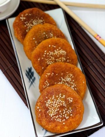 Chinese Pumpkin Pancakes