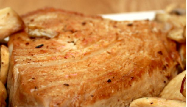 Easy tuna steak