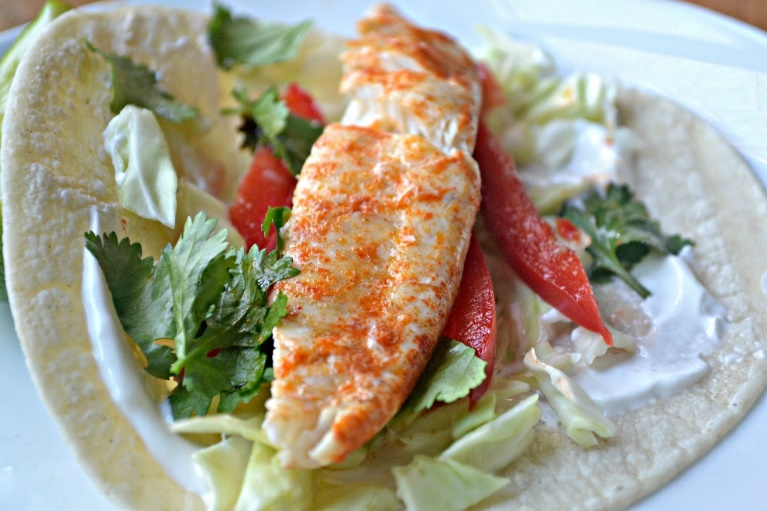 Instant pot fish tacos