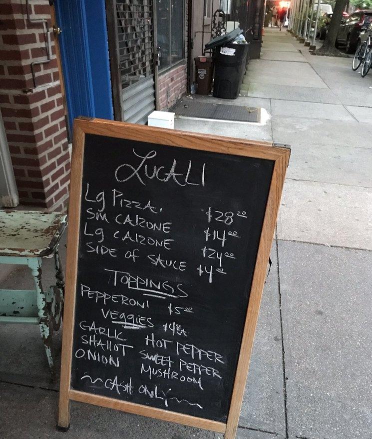 Lucali pizza restaurant