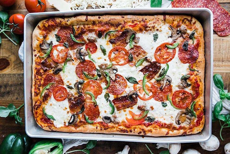 Sheet pan Sicilian pizza recipe