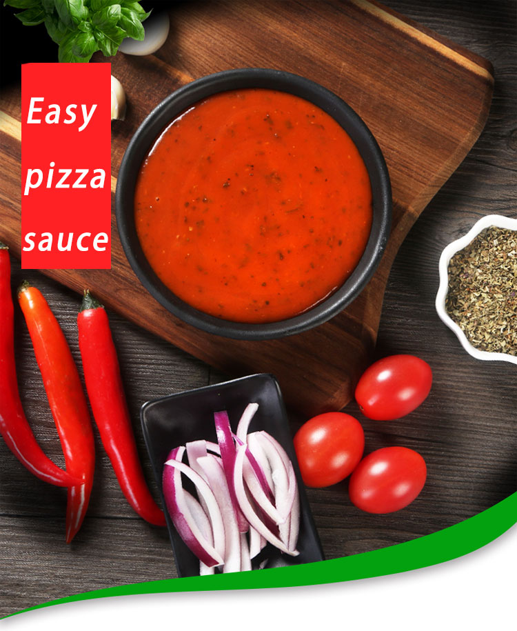 pizza sauce and tomatoes 1