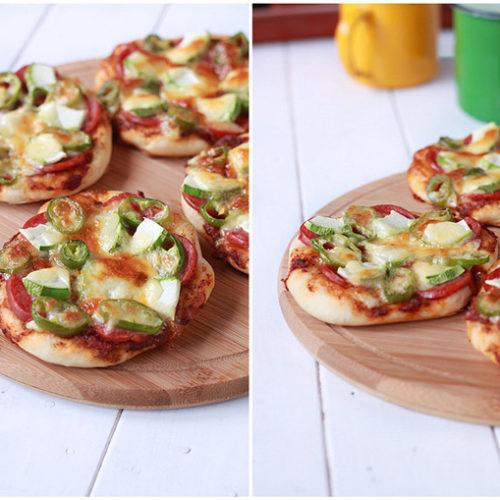 zucchini pizza bites6