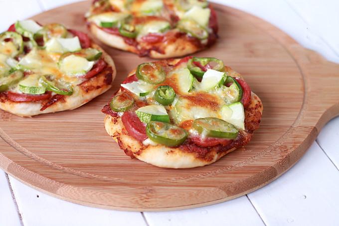 zucchini pizza bites7